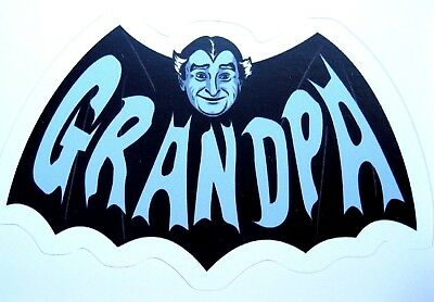 Grandpa Munster  Sticker/Decal  The Munsters Horror Classic New