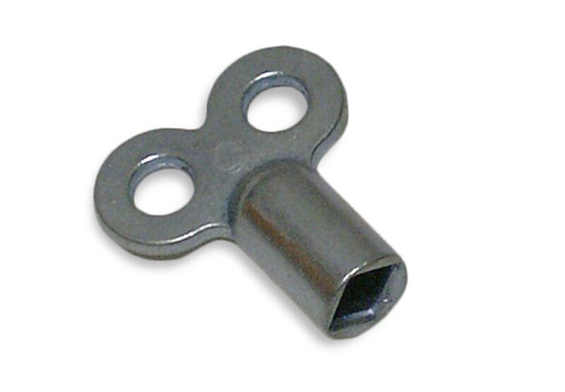 10 Stück Heizkörperentlüftungsschlüssel   innen 5mm   Kunststoff   schwarz