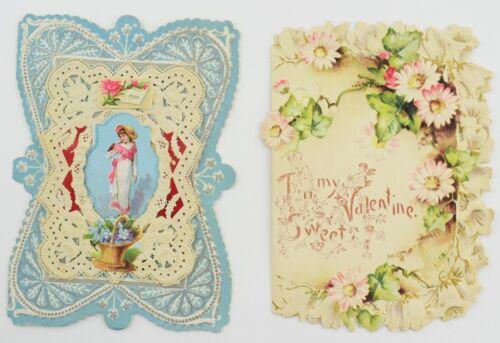 Lot of 2 Valentines c.1890