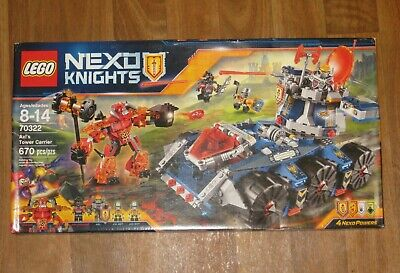 LEGO Nexo Knights Axl's Tower Carrier 70322 Brand New Opened/Damaged Box