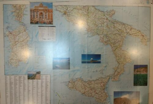 Italy Laminated Wall Map (K)