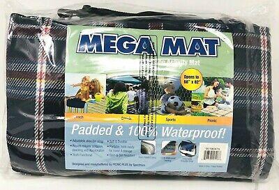 Picnic Plus Mega Mat Multi-Purpose Padded Blanket/Seat Cushion (68