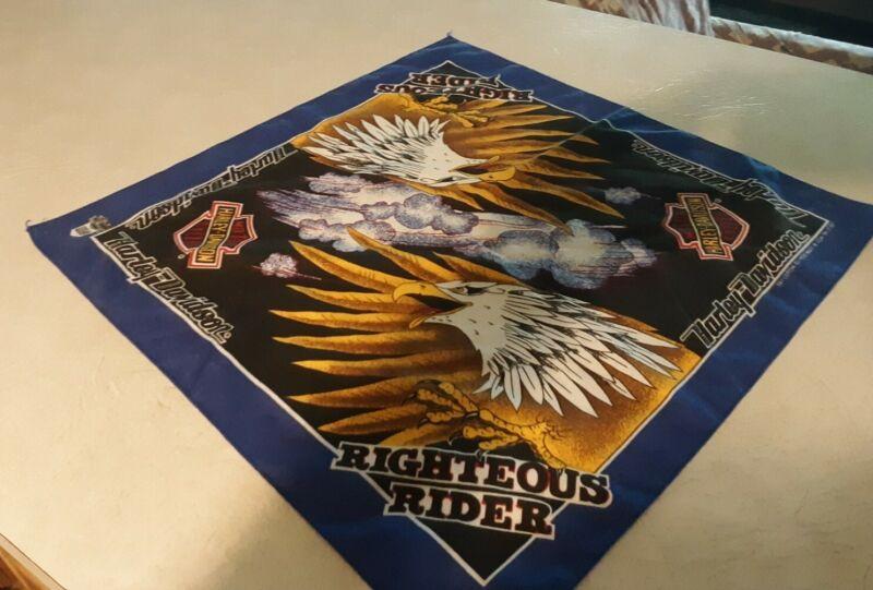 Harley davidson bandana bald eagles righteous rider