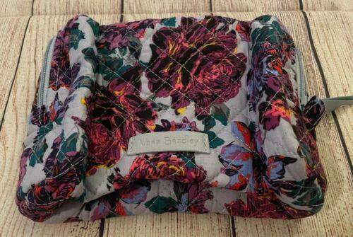 Vera Bradley Cosmetic Bag in Petite Neon Blooms (Winter 2020) - Make-up Case
