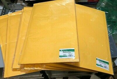 Lot Of 24 4 9.75x14.5 Kraft Self Seal Bubble Mailers Padded Envelope Bags