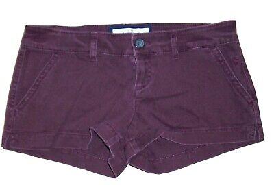 Abercrombie Kids Girls Shorts, size 16,  Maroon,  cotton, elastane Stretch
