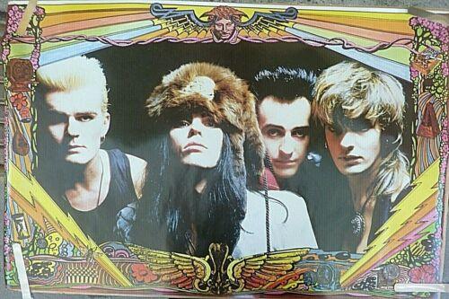 RARE THE CULT 1987 VINTAGE ORIGINAL MUSIC POSTER