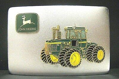 John Deere 9620 9520 9420 9320 9220 4WD Tractor Leaping Deer Logo Belt Buckle jd