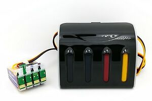 CISS CIS Continuous Ink System Fits Epson WF2630WF Printer 16 16XL  NON-OEM
