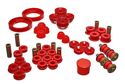 Energy Suspension Hyper Flex Master Bushing Kit ACCORD 94-97 16.18107R (Red) ()