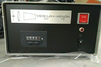 Mercury 100 Xenon 75 Power Supply 115vac 10075w For Optiphot Microscope Arclamp
