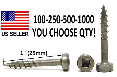Pan Head Pocket (100-250-500-1000 pcs! #7 x 1