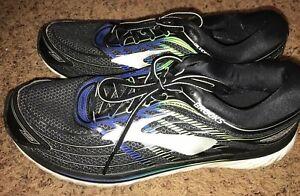 Brooks Glycerin 15 Running Shoes-Men's Size 12D,Black/Blue/Green Gecko MSRP $150