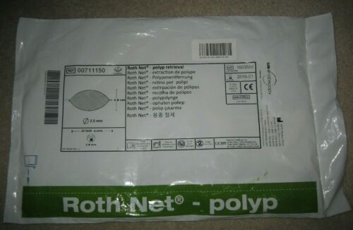 US Endoscopy 00711150 Roth Net - Polyp Retrieval Expires 2019-03 - 230 cm - 3 cm