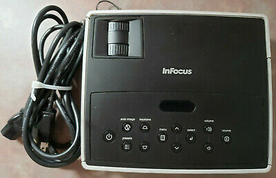 Infocus IN1102 Digital Projector, 2125 Lamp hours with power cord