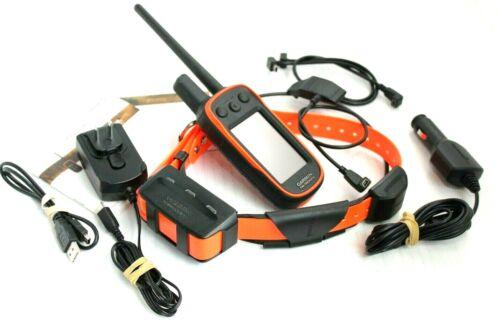 Garmin Alpha 100 TT15 System w/ Chargers - Great Condition - Orange Strap