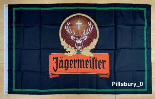 Jagermeister Flag 3x5 ft Banner Deer Jager