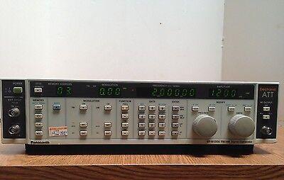 Panasonic Am Fm Signal Generator Vp-8130a 0.01 - 280mhz