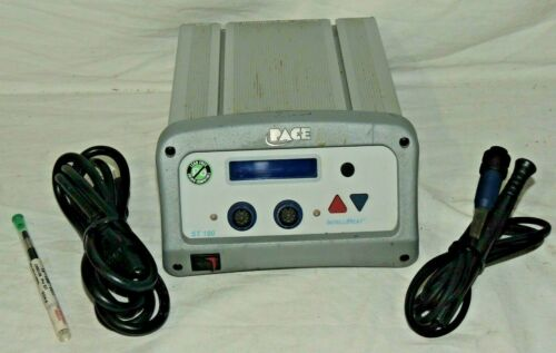 PACE ST 100 DUAL CHANNEL SOLDERING SYSTEM 120V- VG- FREE SHIPPING