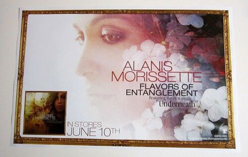 Alanis Morissette Flavors of Entanglement Two Sided Promo Poster