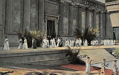 Berkeley Univ of California~Greek Theatre~Ajax of Sophocles~Togas~Flutes - Greek Togas