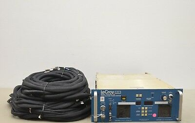 Lecroy Hv4032a High Voltage Power Supply W8 Modules And Cables 15403 J34