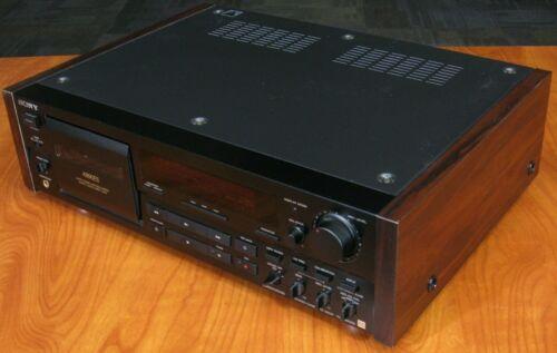 Sony TC-K890ES 3-Head Cassette Deck Built for Serious Recording or ES Enthusiast