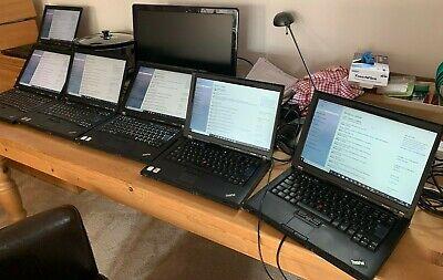 Lenovo T61 Think Pad Laptop X6 with 2016 Office (lifetime) & 2D Design