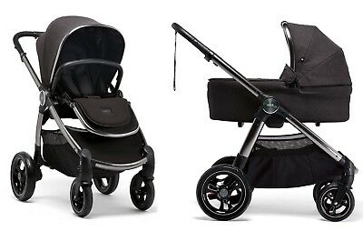 Mamas & Papas Ocarro Stroller + Bassinet Bundle Signature Edition Anthracite New for sale  Shipping to South Africa