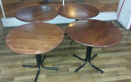 90cm cafe tables Maxwelton Central West Area Preview