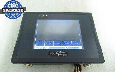 Maple Systems Touch Screen Panel Hmi5056t Working