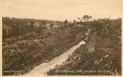 s09548 Golden Valley, Hindhead, Surrey, England postcard unposted