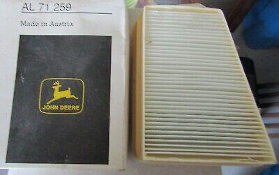 Genuine Oem John Deere Filter Element Al71259 Pair 2 Cab Air Filter