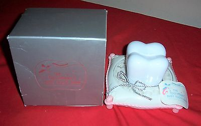 NEW ~ The Tooth Fairy's Baby Tooth Bank Keepsake Box Holder ~ PINK GIRLS