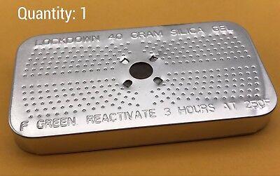 1 Rechargeable 40 Gram Desiccant Gun Safe Ammo Dehumidifying REUSABLE Silica Gel