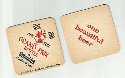 "Lot of 5 Schmidt's Beer-Philadelphia, PA 3 1/2"" 1960's #022..2 sided ""One"""
