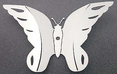 Schmetterling aus Edelstahl, Wanddeko, Deko, Wohnen, Garten, Geschenkartikel
