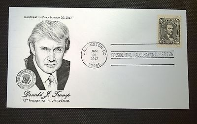 Presidential Inauguration Cover 2017 - Trump Cachet - 'Classic' Forever Stamp