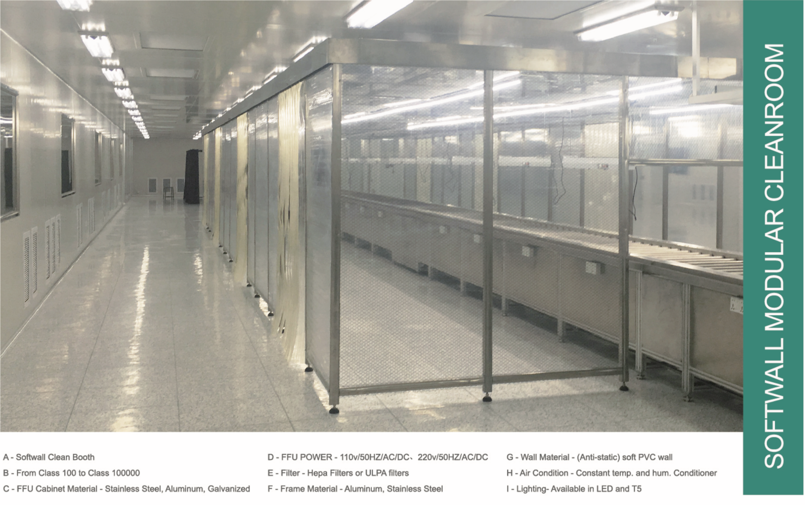 Cleanroom for sale clean room class 100 -100,000 / ISO 5 - ISO 8 | Shopping  Bin - Search eBay faster