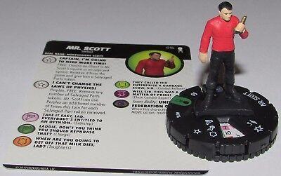 MR. SCOTT 016 Star Trek Away Team Wizkids HeroClix