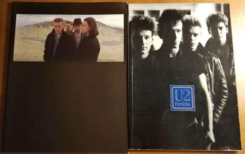 U2 Sheet Music Songbook & Joshua Tree Photo Book