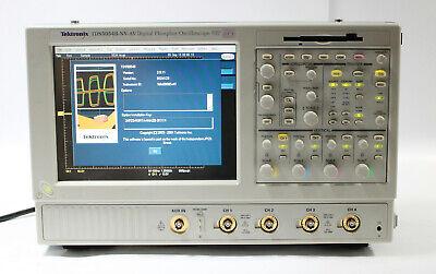 Tektronix Tds5054b-nv-av 500mhz 5gss 4ch Dpo Digital Phosphor Oscilloscope