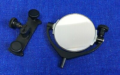 Pol Min Microscope Mirror With Overturning Reflector Lomo Zeiss Leitz