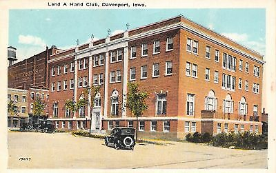 Davenport IA Petersen's Department Store~Lend-A-Hand Club 1920s Torn Down (Davenport Stores)