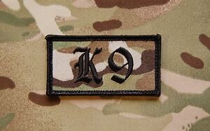 Dog-Handler-Patch-Multicam-Black-US-Army-Special-Forces-K9-SAS-UKSF-Hook