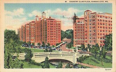 Postcard Country Club Plaza Kansas City Missouri