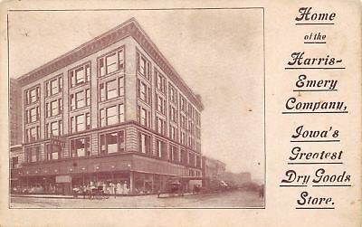 Des Moines Iowa~Harris-Emery Company~Department Store~Dry Goods~Mannequins~1908 - Party Good Store