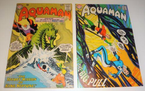 AQUAMAN #9 VG 1963 -, #51 NEAL ADAMS DEADMAN FINE WHITE PAGES 1970