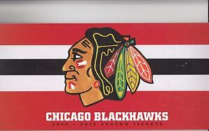 2014-15 CHICAGO BLACKHAWKS SEASON TICKET BOOK STANLEY CUP TOEWS KANE SET