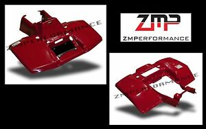 NEW SUZUKI LTF 300 LT300 KING QUAD RED PLASTIC FRONT AND REAR FENDER SET